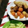 日本からの視察者さんのために下調べにCha Caを食べに1区の方までベトナム人の友人と