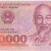 テトのお年玉用に銀行で5万ドン紙幣に両替してみた.....のだけどさ